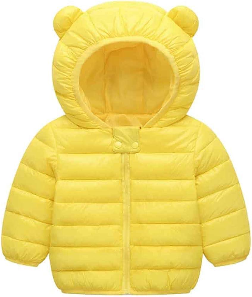 CHIYEEE Ragazzi Ragazze Piumino Inverno Giacche di Piuma Cappotto con Cappuccio Bambino Leggero Giubbotti