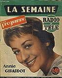 LA SEMAINE - MON PROGRAMME RADIO TELE - N°50 - du 11 au 17 décembre 1960 - LES PROGRAMMES DETAILLES DU MONDE ENTIER - Jean Claude Pascal en couverture