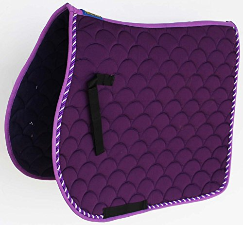 Professional Equine Horse Quilted English Saddle PAD Trail Dressage 7296PR
