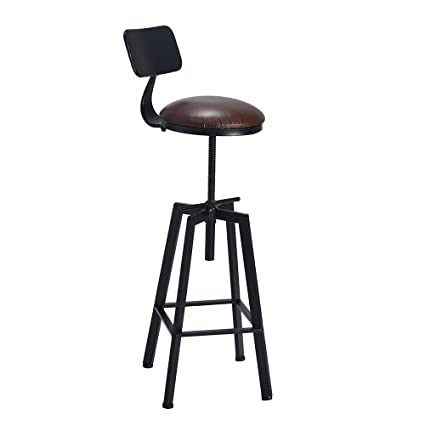 Magnificent Amazon Com Fubon Us None Retro Height Adjustable Metal Ibusinesslaw Wood Chair Design Ideas Ibusinesslaworg