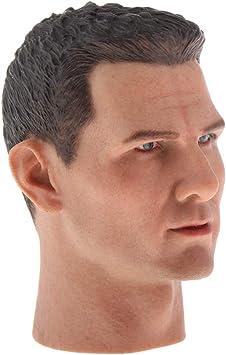 """cheveux noirs 12/"""" inch action figure pour échelle 1//6 objets"""