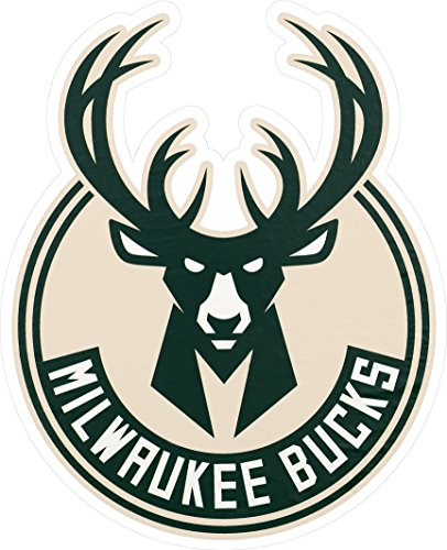 - Applied Icon, NBA Milwaukee Bucks Outdoor Small Primary Logo Graphic Decal
