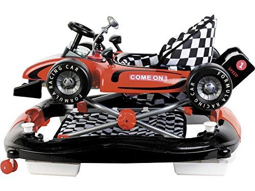 Amazon.es: CUORE BABY Andador Rojo 3 en 1 Fórmula 1 Actividades ...