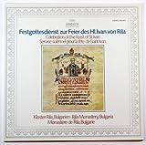 Festgottesdienst Zur Feier Des Hl. Ivan Von Rila ~ Celebration of the Feast of St. Ivan / Rila Monastery, Bulgaria