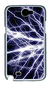 Electrify Polycarbonate Hard Case Cover for Samsung Galaxy Note II N7100¨C White