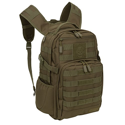 SOG Ninja Tactical Day Pack, 24.2-Liter, Olive (Hiking Olive Backpack)