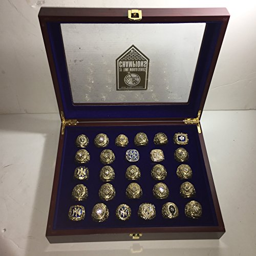 ankees World Series Replica Rings W/Box-Size 10.5-12 Gold & Silver Color Collectible 1923-2009 USA SHIPPER (World Series Collectibles)