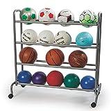 ball rack - S&S Worldwide Ball Rack for 16 Balls