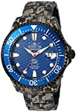 Invicta Men's 'Pro Diver' Automatic Stainless Steel Diving Watch, Color:Black (Model: 24421)