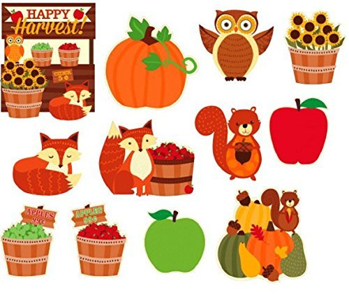 Happy Harvest~Fall~Thanksgiving~Autumn Themed Value Pack Cutouts
