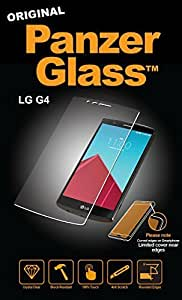 Panzer Glass Protective Anti Scratch Fluid Resistant Glass Screen Protector Shield for LG G4 by PanzerGlass