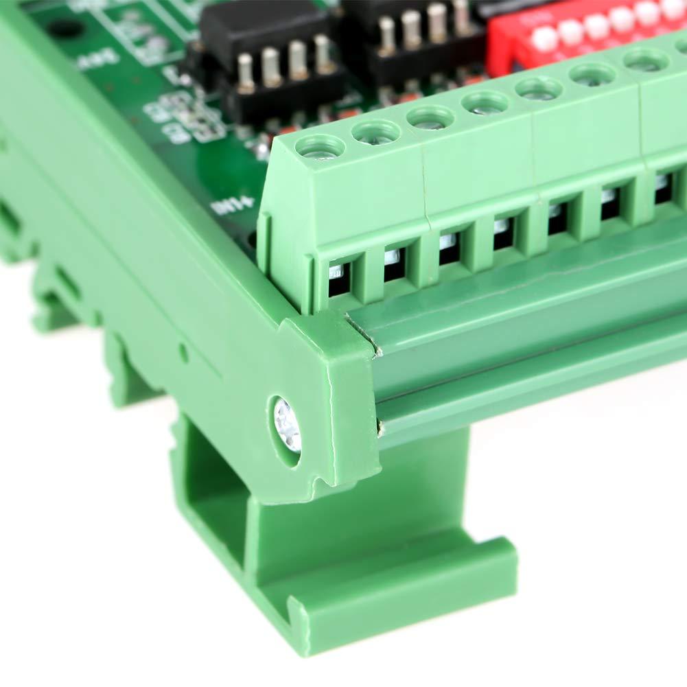 Signalkonverter 1pc 8-Kanal NPN//PNP zu NPN 5V 24V Rechtecksignal-Konvertierungsmodul Pegelkonverter 10MHz