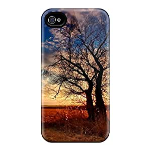 Faddish Phone Silhouette Tree Case For Iphone 4/4s / Perfect Case Cover