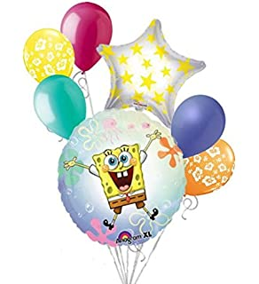 Amazon.com: 7 pc WOW WOW Wubbzy ramo de globos Feliz ...