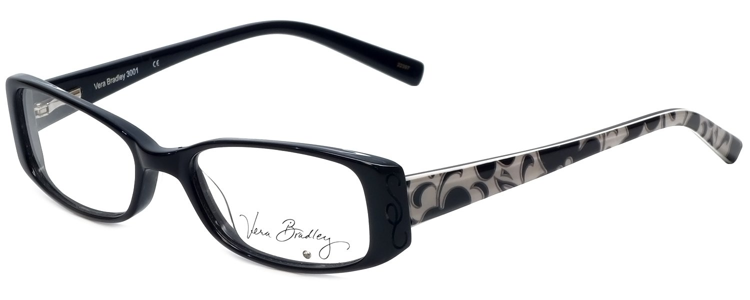864af38d61 Amazon.com  Vera Bradley Designer Eyeglass Frame 3001-NDY in Night and Day  51mm  Health   Personal Care