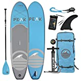 Peak 10'6 All Around Inflatable Stand Up Paddle Board