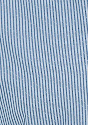 Blu Camicia Poliestere Lunga Regular Per Intelligente Righe 5xl Fondono A Uomo Xs Taglie Tarocash Manica Fit Uscire Gurdon Occasionwear xSqdwUCS