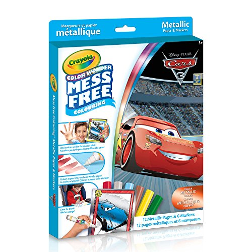 - Crayola - Color Wonder Metallic Kit Cars 3