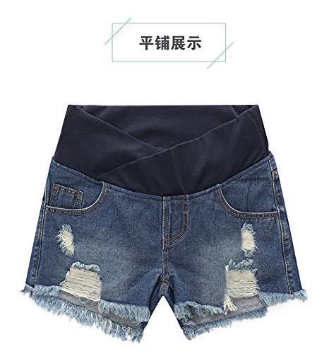 WNuanjun Pantalones Cortos de Mezclilla Pantalones Vaqueros ...