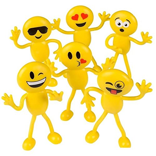 Bendable Emoticon Emoji Action Figures Nearby Toxey Lasaze Review