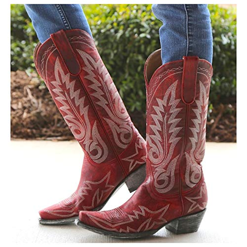 Old Gringo Women's Nevada Western Boot,Red,7 B US (Old Gringo Women Boots)