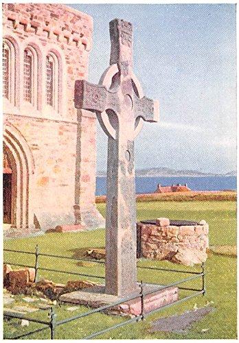 St John's Cross Iona Scotland, UK - St Town John