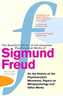 complete psychological works of sigmund freud the vol a case  complete psychological works of sigmund freud the vol 14 on the history of