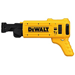 DEWALT DCF6201 20-volt MAX XR Li-Ion Drywall ScrewGun Cordless Collated Magazine Attachment