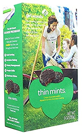 Image result for Girl Scout cookies boxes
