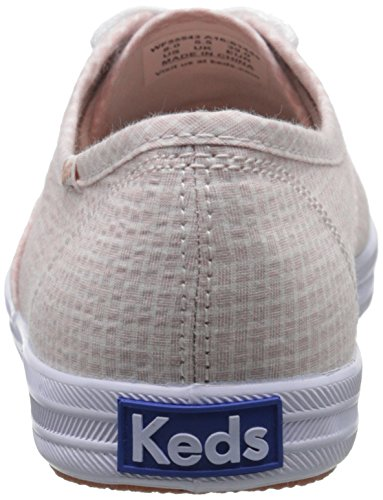 Fashion Keds M Tan Shirting Sneaker 8 Champion US Women's CqZtpq1