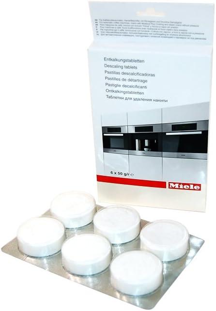 Miele 5626050 Cafetera eléctrica Descalcificador Tablet: Amazon.es: Hogar