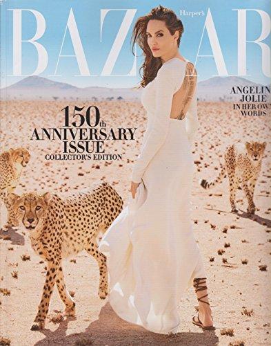 Harper's Bazaar November 2017 Angelina Jolie In Her Own - Angelina Style Jolie
