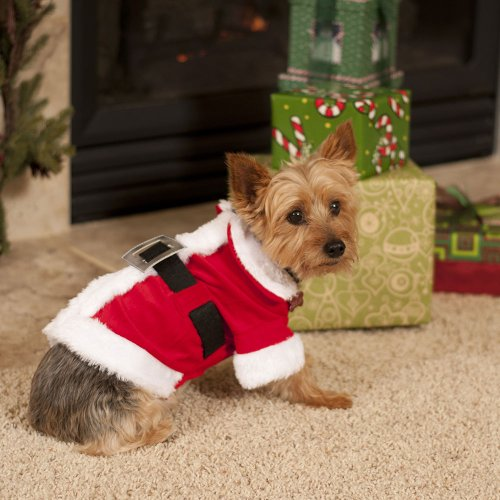 Santa Claus Dog Costume Small, My Pet Supplies