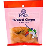 Eden Foods, Pickled Ginger with Shiso Leaves, 2.1 oz (60 g) - 3PC