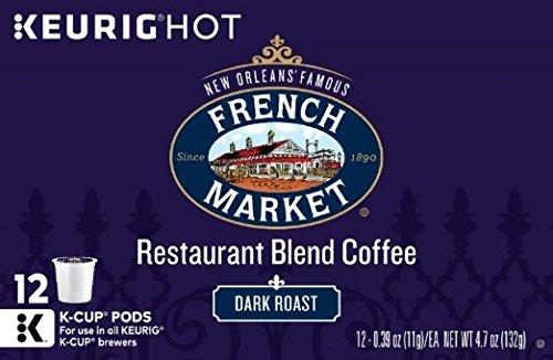 French Market Coffee Dark Roast Keurig K-Cups, 48 Count - Roasted Coffee Orleans New