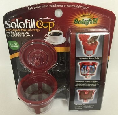 SOLOFILL K2 STAINLESS MESH K2 Stainless Mesh Solofill Cup