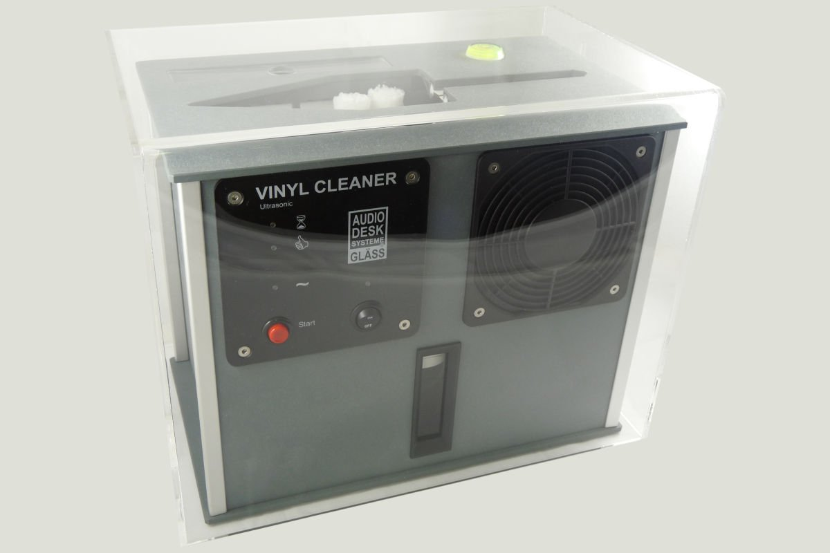 Gingko Audio ClaraVu ''Cover-all'' Dust Cover for AudioDesk Vinyl Cleaner - VC by Gingko Audio