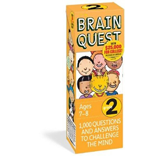 Brain Quest Educational Question Answer Game - Choose Grade Level! (2ND GRADE)