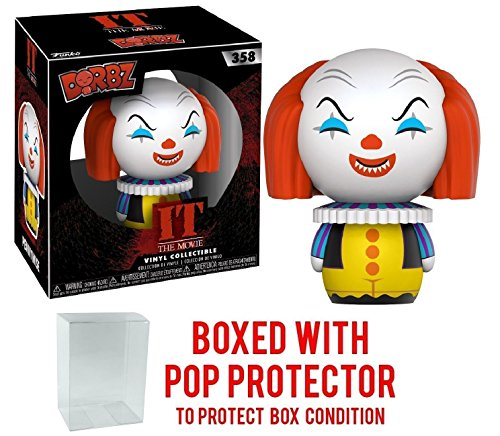 Hannibal King Costume (Funko Dorbz Horror: Stephen King's It - Pennywise Clown Vinyl Figure (Bundled with Pop BOX PROTECTOR CASE))