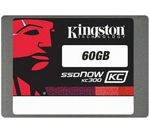 "KINGSTON SSD interno SSDNow KC300 (SKC300S37A/60G) - 60 Gb + Kit de montaje SSD / HDD interno 2.5"" Desktop Upgrade Kit + Funda QHDC-101K - negro + Cable USB tipo A macho / hembra - 2 metros - MC922AMF-2M"
