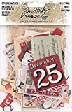 Idea-ology Tim Holtz 2017 Christmas Ephemera and