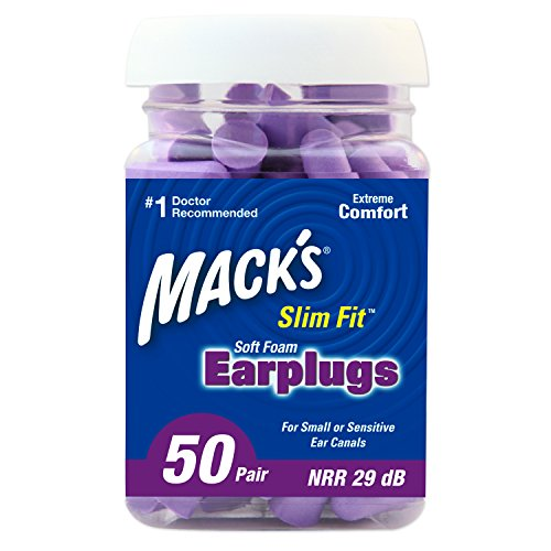 Mack's Slim Fit Soft Foam Earplugs, 50 Pair - Small Ear Plugs for Sleeping, Snoring, Traveling, Concerts, Shooting Sports and Power Tools by Mack's (Image #9)
