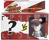 Kidrobot Street Fighter M. Bison Mini Figure, 2-Pack