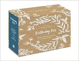 Birthday Box Twenty Cards Sarah McNally 9781616896959 Amazon Books
