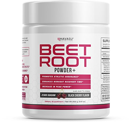 Premium Beet Root Powder with Organic Peak02 - Supports Fast Recovery & Athletic Endurance, Easy to Mix- 28 Servings
