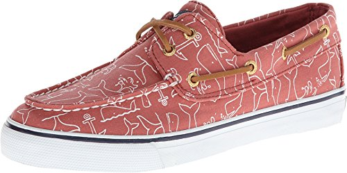 Sperry Top-Sider Women's Bahama 2-Eye Green Canvas 10 M US