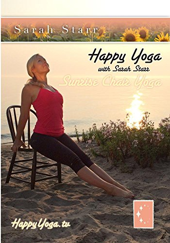 Happy Yoga with Sarah Starr Sunrise Chair Yoga (Chair Yoga For Seniors Dvd)