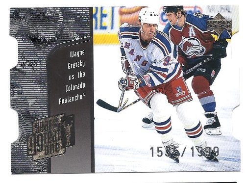 WAYNE GRETZKY 1998-99 Upper Deck Year of the Great One Quantum 1 Parallel #GO8 Card #1535 of 1999 Made! New York Rangers ()