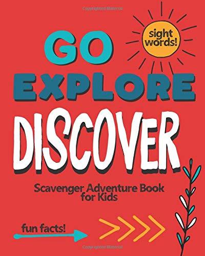 Go Explore Discover: Scavenger Adventure Book for Kids por Creativity Builders