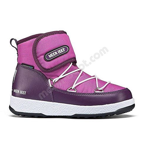 Moon Boot W.E. Strap Jr Girls' Violet/Orchid 36 by Moon Boots
